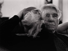 Marilyn Monroe and Carl Sandburg by Arnold Newman_everythingsbeautifulhere